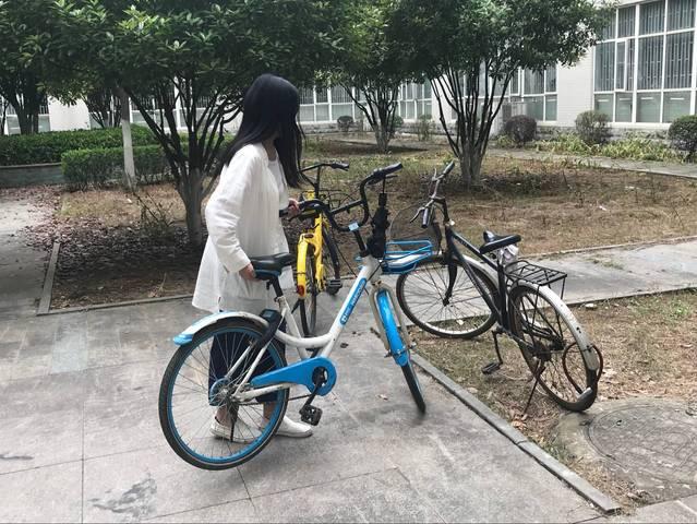 从摆放单车,到改善校园环境